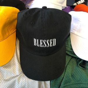 Blessed Dad Cap - Black